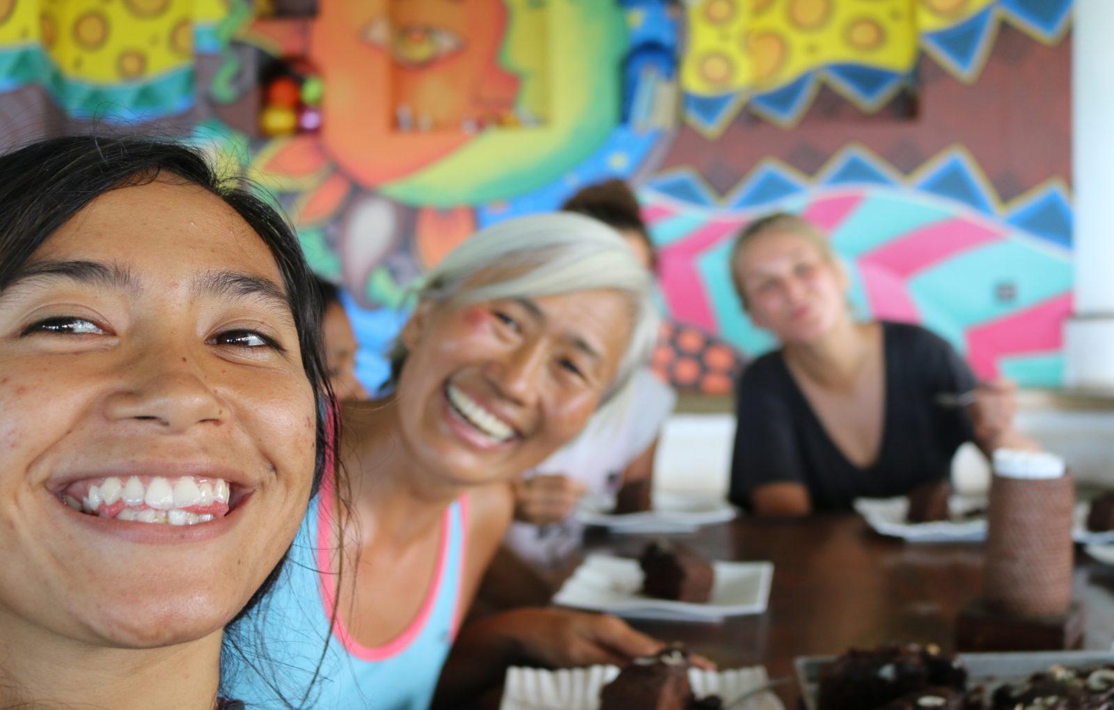 Ashtari restaurant lounge Kuta Lombok Indonesia Surf Yoga Loft nature view Horizon sunset Event